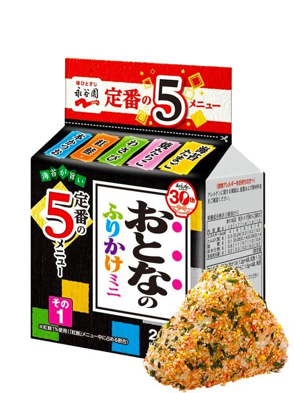 Condimento Furikake Bento Receta Adulta | 5 Sabores 29 grs
