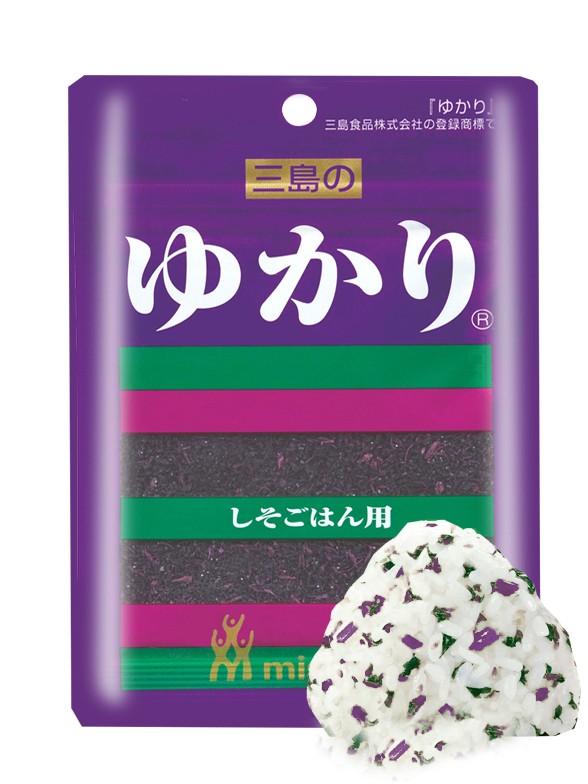 Condimento Furikake Yukari de Shiso Rojo 26 grs.
