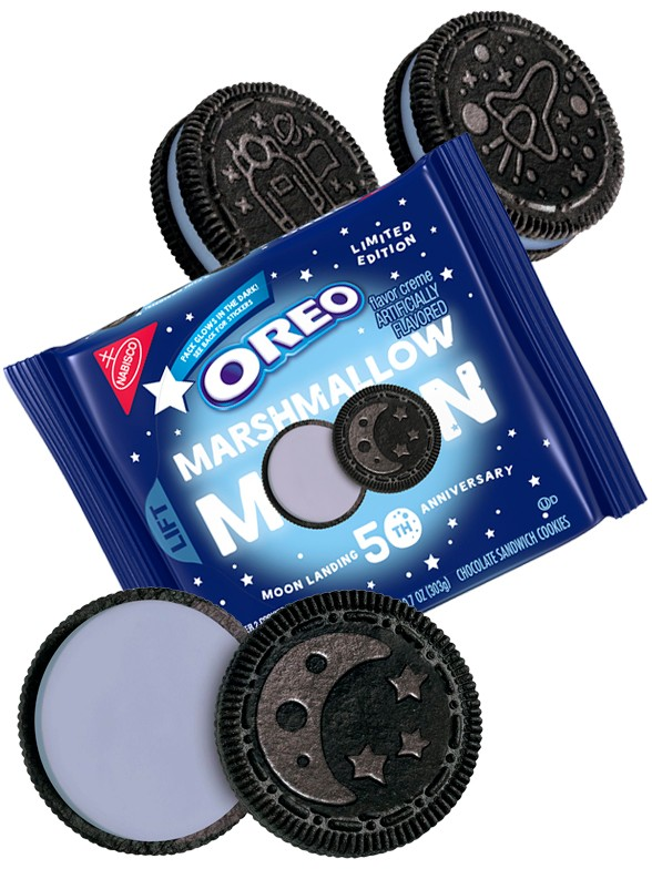 Oreo de la Luna Marshmallow Moon | Edición Limitada 303 grs. | Pedido GRATIS!