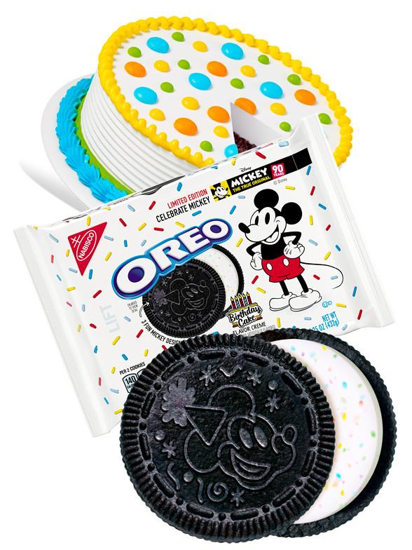 Oreo de Crema de Tarta de Cumpleaños Mickey   Edición Limitada