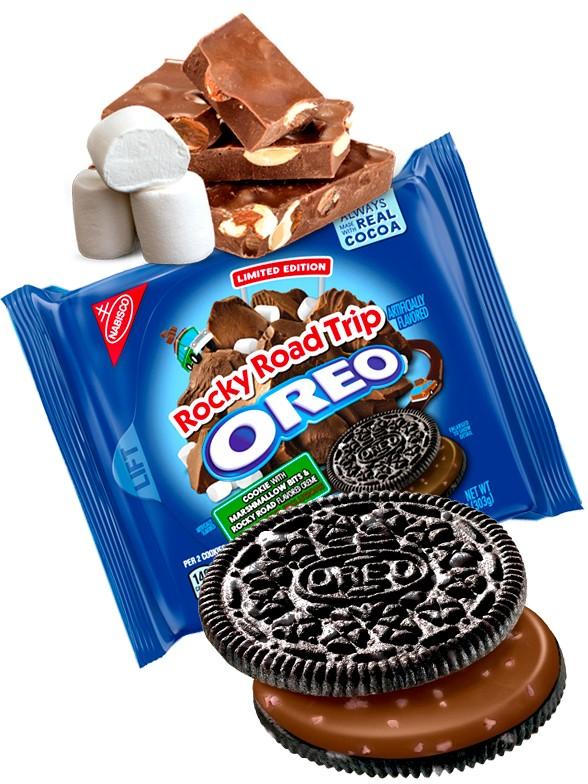 Oreo Chocolate, Marshmallows y Soja Tostada| Rocky Trip Postre 303 grs