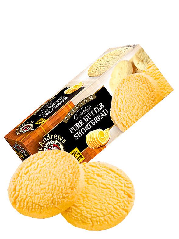 Cookies Shortbread con un 32% de Mantequilla 150 grs