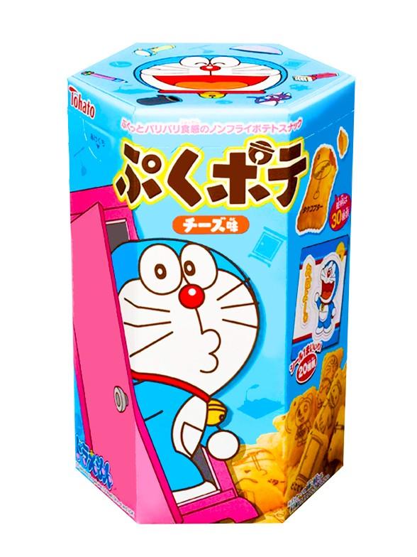 Galletas Snack de Queso | Doraemon Edición Limitada