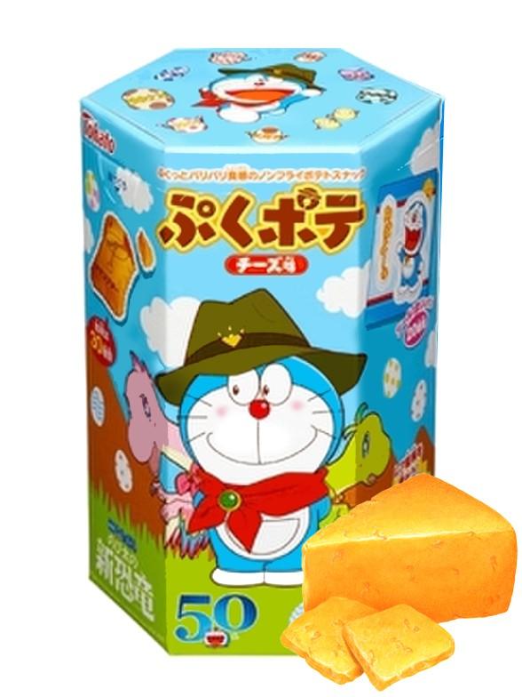 Galletas Snack de Queso   Doraemon Edición Limitada
