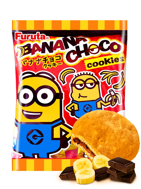 Galletas Rellenas de Chocolate y Banana | Minions 52 grs