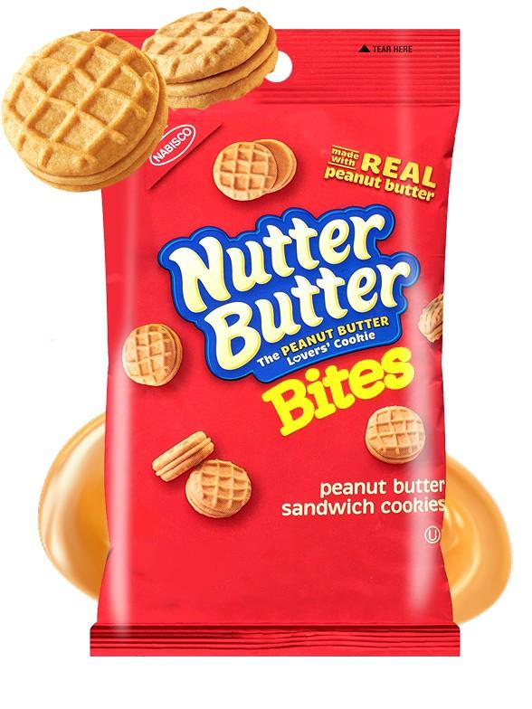 Galletas de Crema de Cacahuete | Nutter Butter Bag 85 grs
