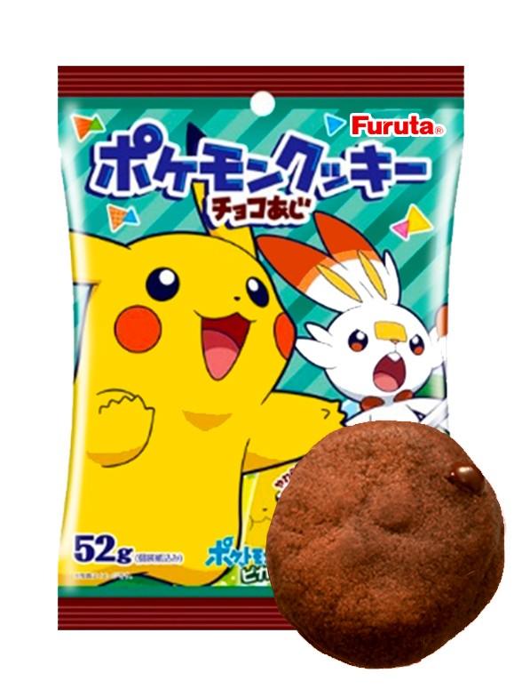 Galletas de Chocolate con Pepitas de Chocolate 52 grs. | Pokemon