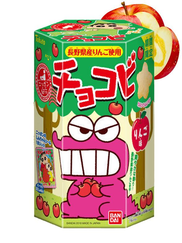 Galletas Snack Shin Chan Sabor Manzana de Nagano | Edit. Limitada