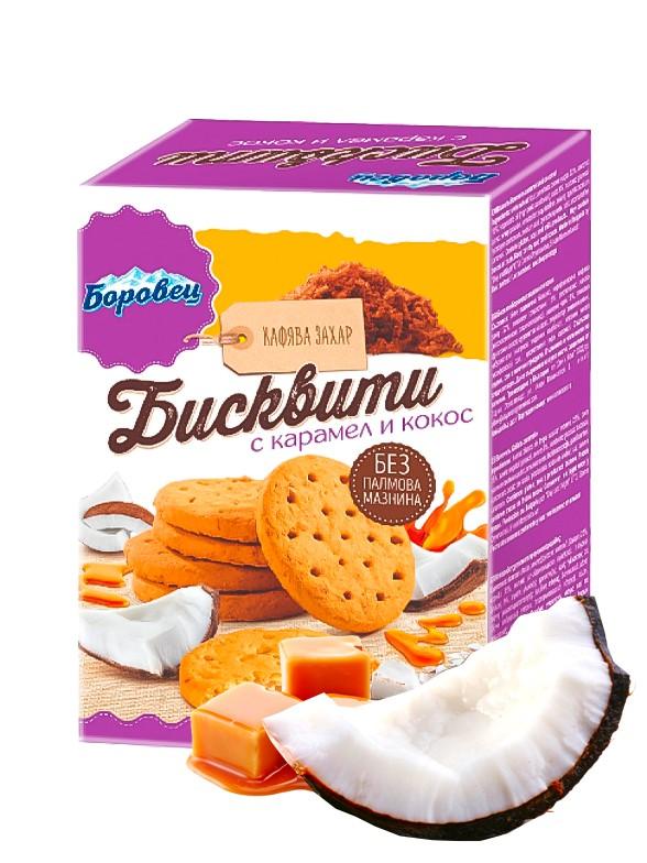 Galletas Snack de Caramelo y Coco 100 grs