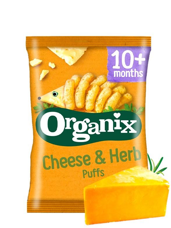 Ganchitos de Queso Sin Gluten | Organix 15 grs.