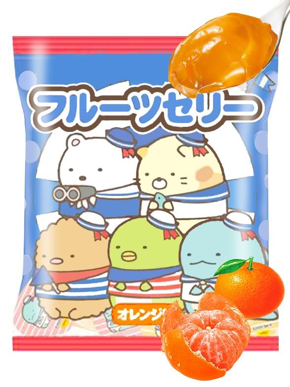 Gelatina de Naranja Sumikko-Gurashi 112 grs.   Pedido GRATIS!