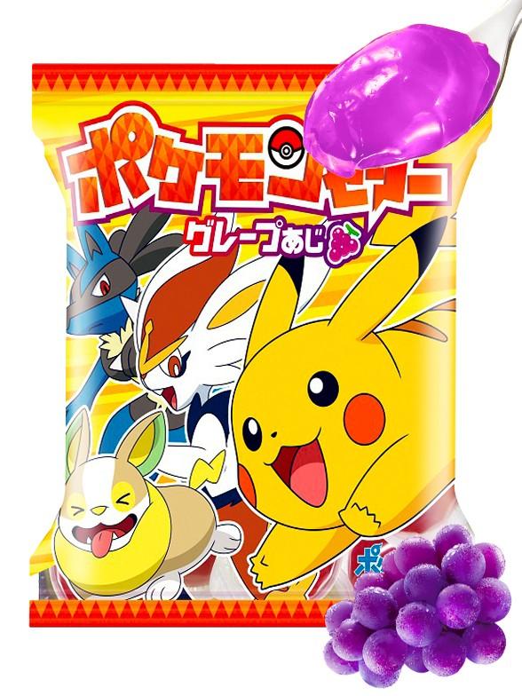 Gelatina de Uva Pokemon 112 grs.   Pedido GRATIS!