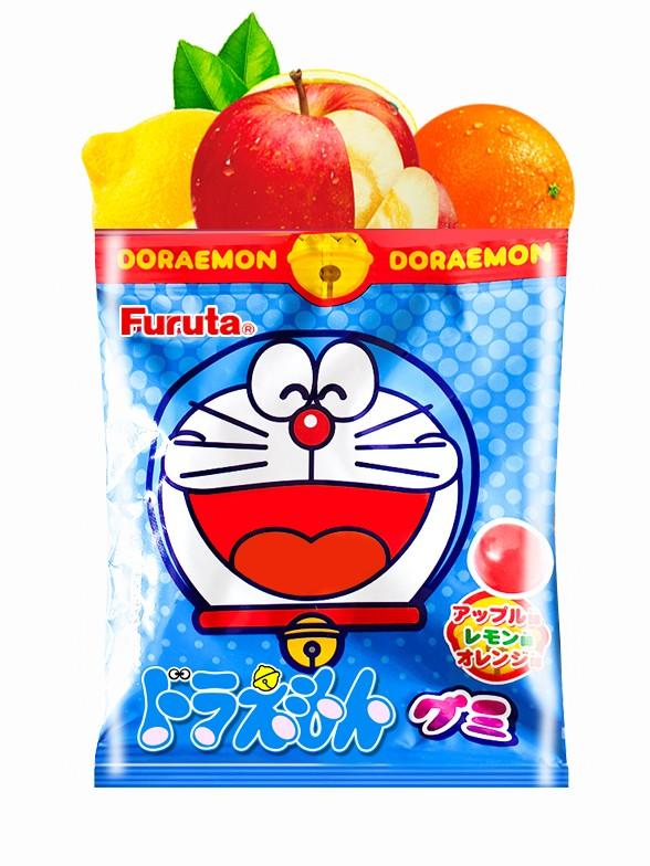 Gominolas sabor Manzana, Naranja y Limón | Doraemon 15 grs | Pedido GRATIS!