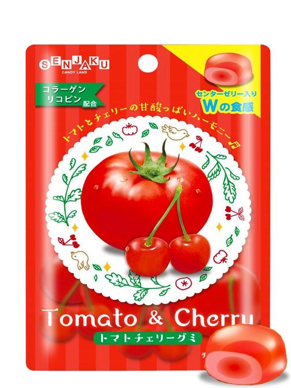 Gominolas de Tomate y Cereza 30 grs