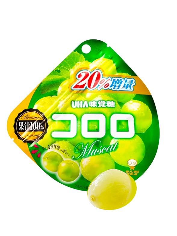 Gominolas Kororo de Zumo de Uva Moscatel 40 grs