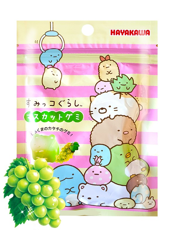 Gominolas Adorables Sumikko-Gurashi sabor Uva | 40 grs.