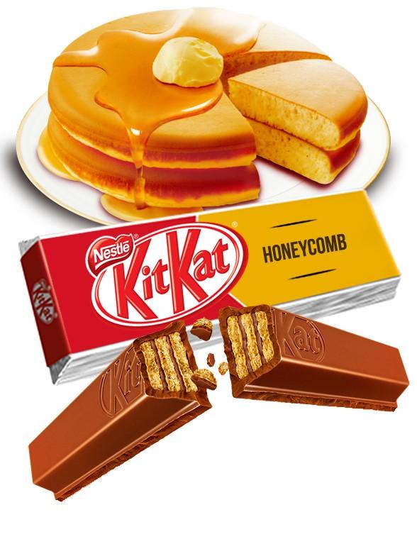 Kit Kat de Chocolate y Torta de Miel | 2 Barritas