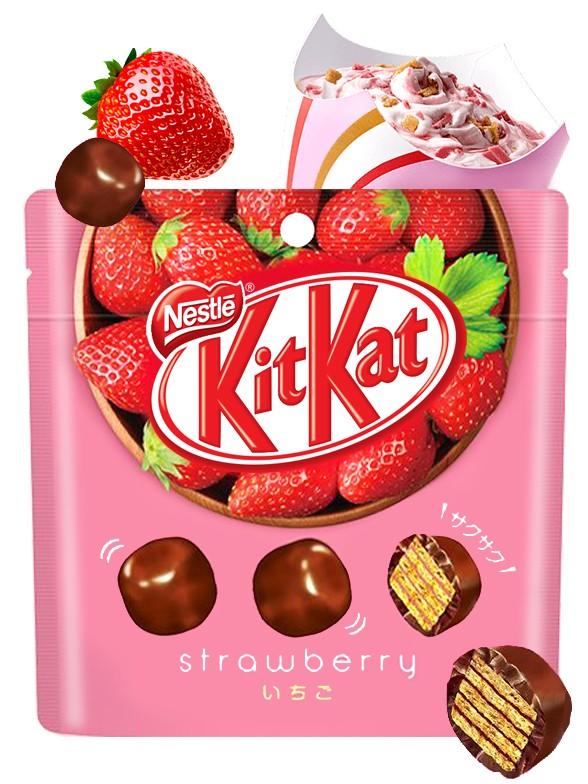 Kit Kats Bite de Fresa 45 grs. | Pedido GRATIS!