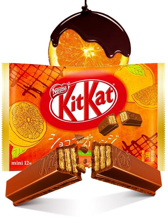 Mini Kit Kats de Chocolate y Naranja | 12 Unidades | OFERTA TOP VENTAS NOVEDADES