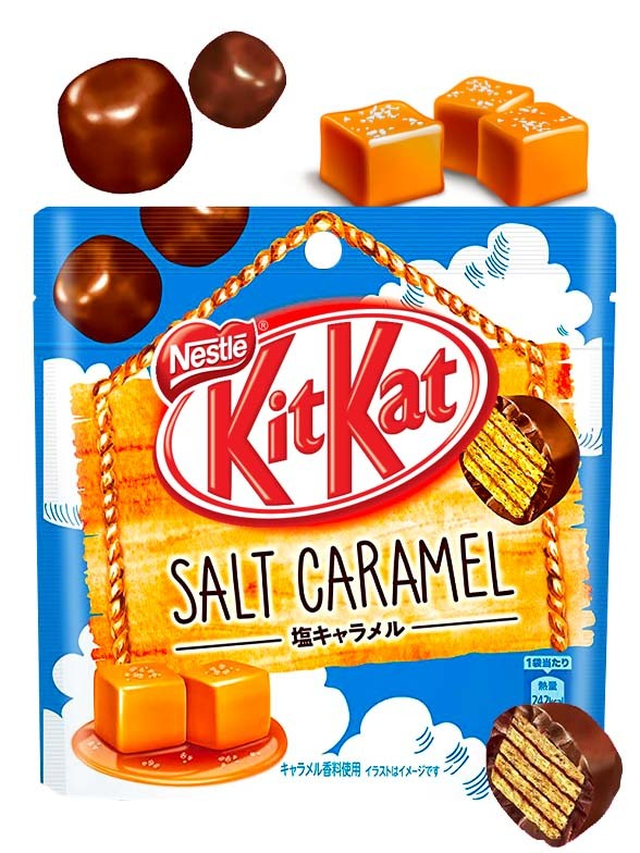 Kit Kat Pops Salted Caramel 45 grs
