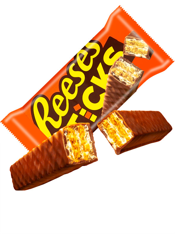 Barritas Dobles Reese's de Crema de Cacahuete, Wafers y Chocolate