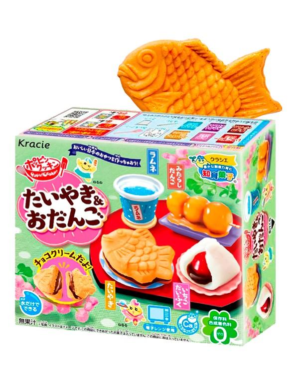 Kit de Pasteleria Taiyaki & Dango   Popin' Cookin'