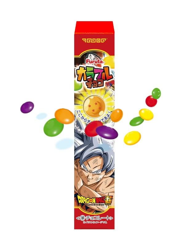 Grageas de Chocolate y Azúcar de Colores | Dragon Ball Super 25 grs
