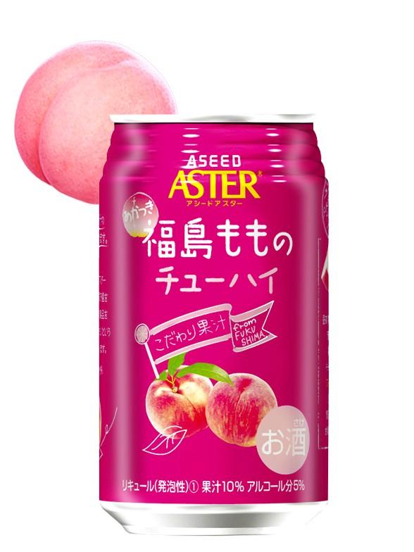 Bebida Chuhi Licor Melocotón Momo Akatsuki 350 ml.