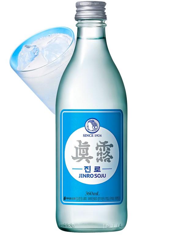 Licor Coreano Soju | Jinro 350 ml.