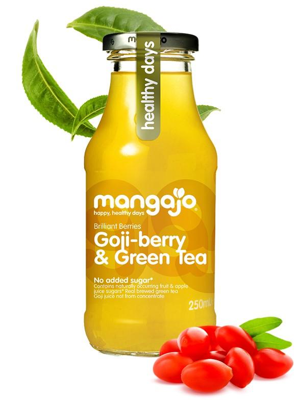 Bebida de Té Verde y Bayas de Goji