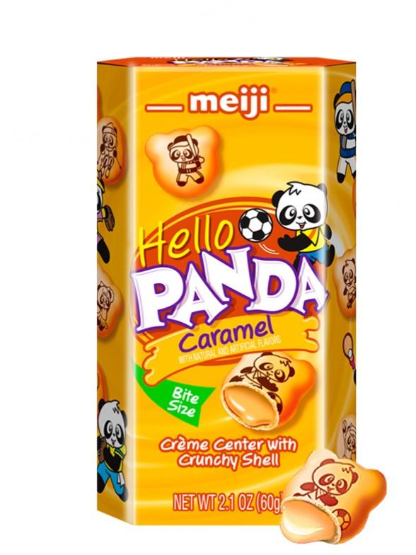 Meiji Hello Panda de Crema de Caramelo 60 grs