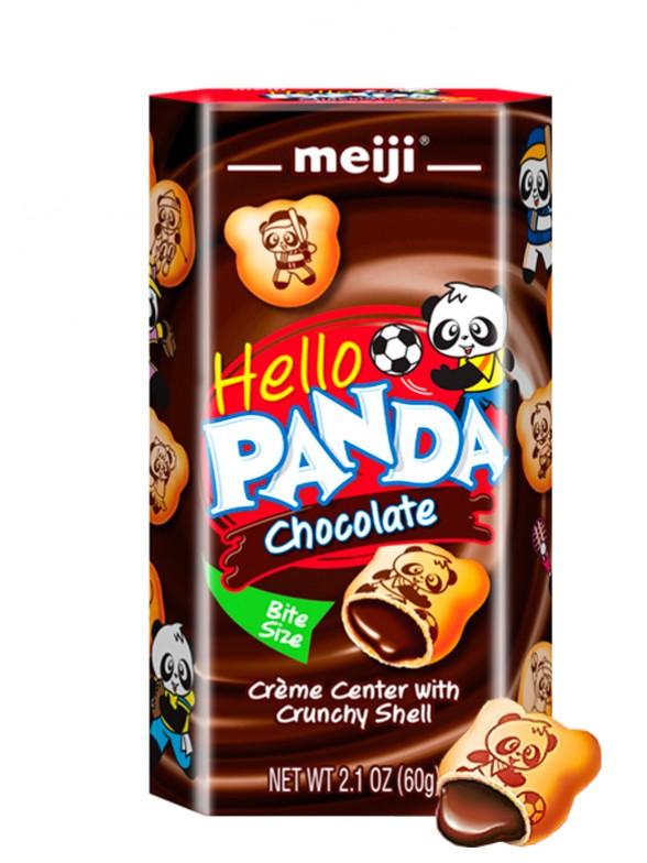 Meiji Hello Panda de Crema de Chocolate 60grs