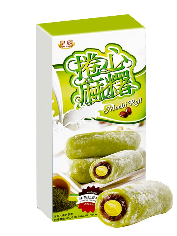 Mochis Cake Roll Cream de Matcha y Azuki   Milky & Love   Premium