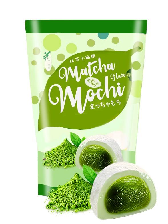 Mochis Daifuku de Té Verde Matcha   Love 120 grs.