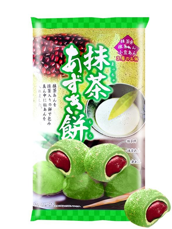 Daifuku Mochis de Té Verde Matcha y Azuki | Receta de Kyoto 147 grs.