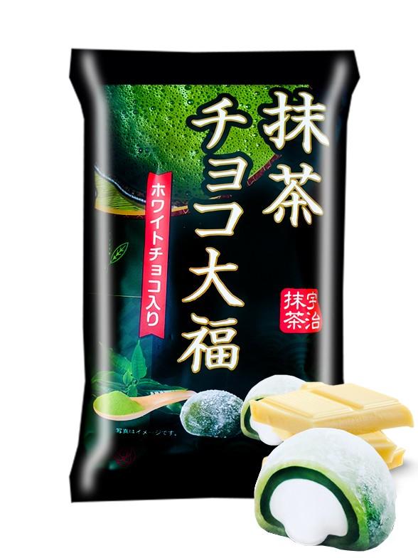 Daifuku Mochis de Té Verde Matcha con Chocolate Blanco | 160 grs.