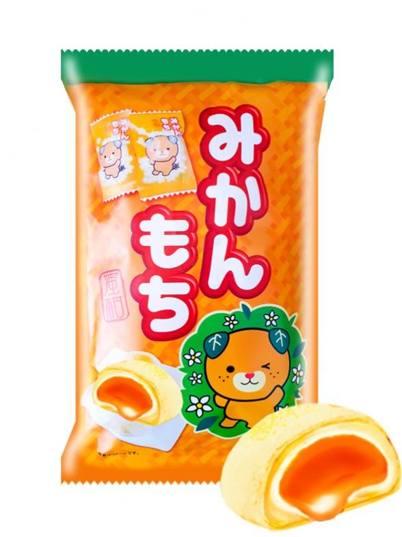 Mochis de Mandarina de Ehime   Edición Mascota Mikyan 180 grs