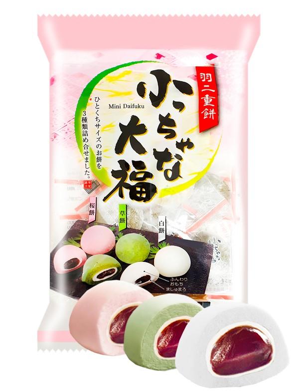 Surtido Mochis con Azuki, Sakura o Yomogi 137 grs.