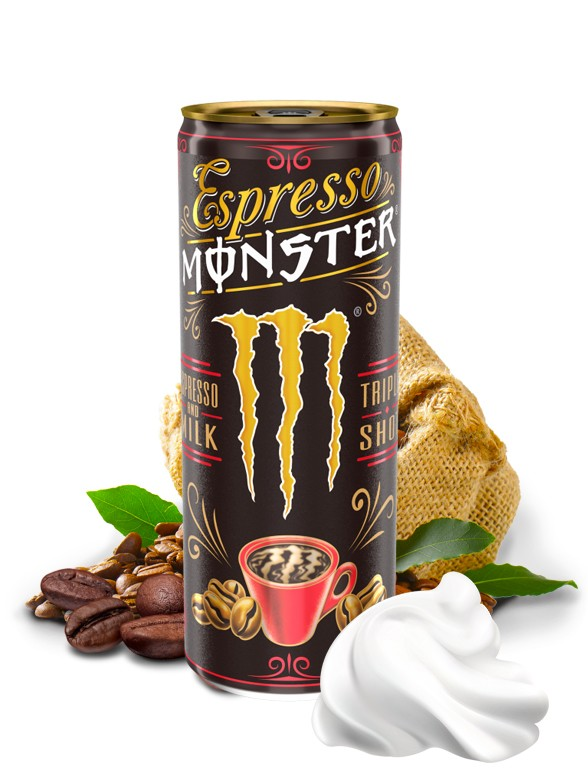 Monster Espresso Cream Triple Shot | USA 250 ml