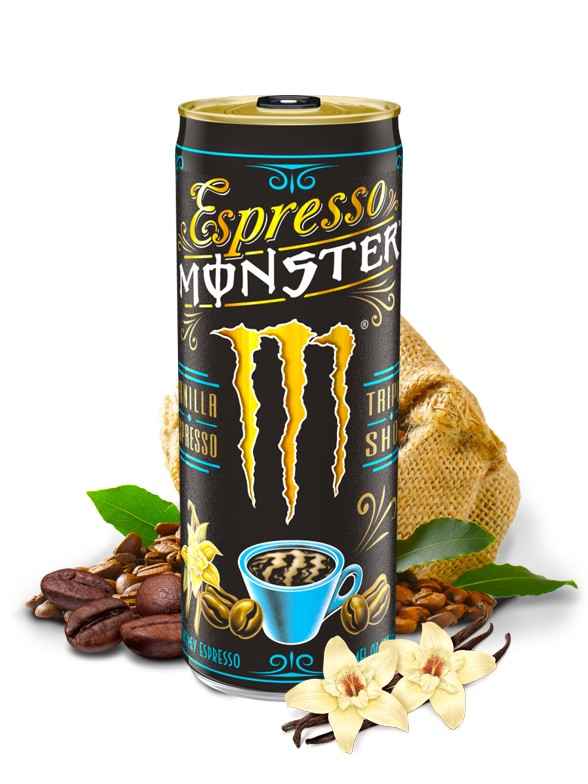 Monster Espresso Vanilla Cream Triple Shot | USA 250 ml