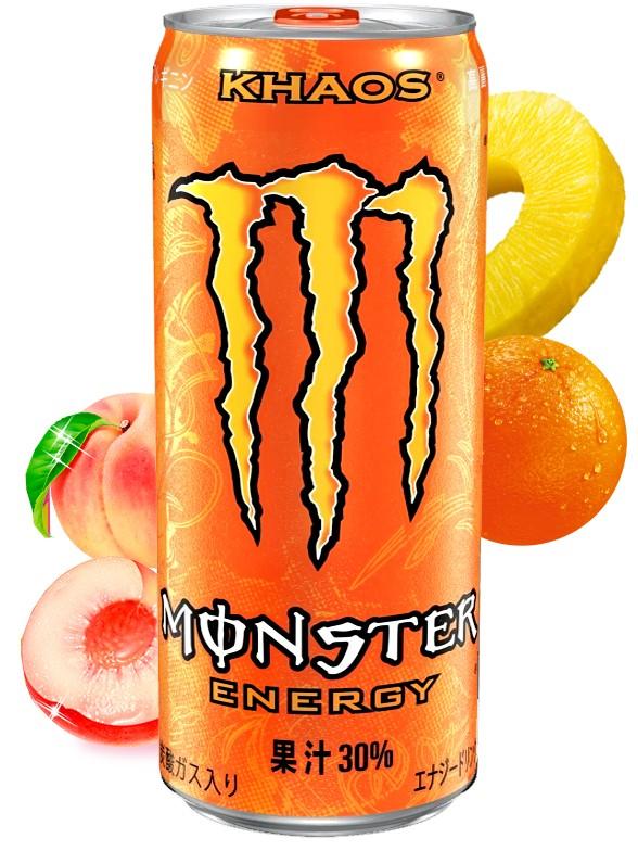 Monster Energy Japonesa   Juice Khaos 355 ml.
