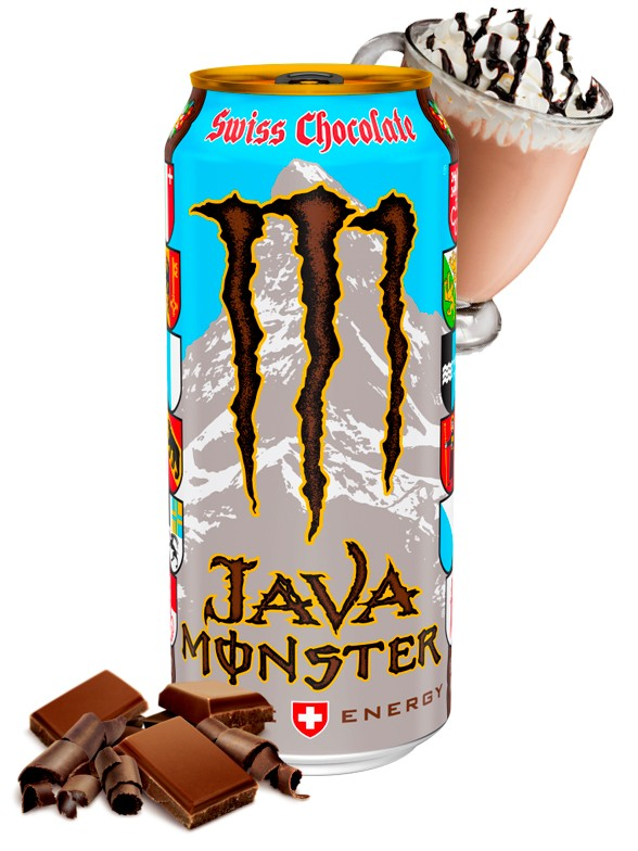 Monster Java con Chocolate Suizo | USA 443 ml