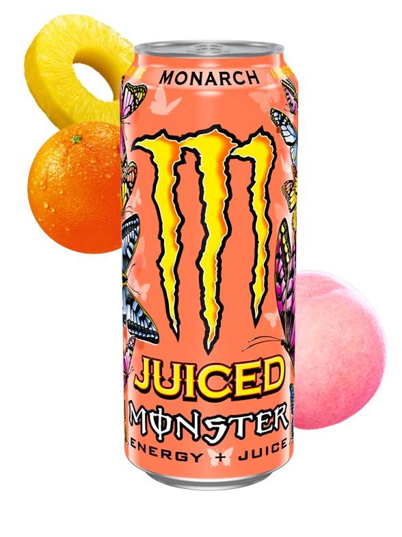 Monster Juice Monarch 500 ml.