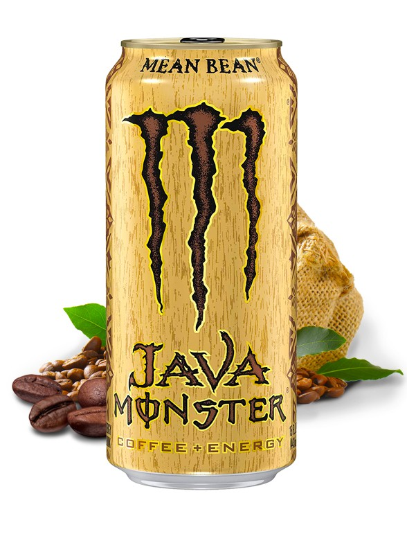 Bebida Energética con Café Monster Java Mean Bean   USA 443 ml.