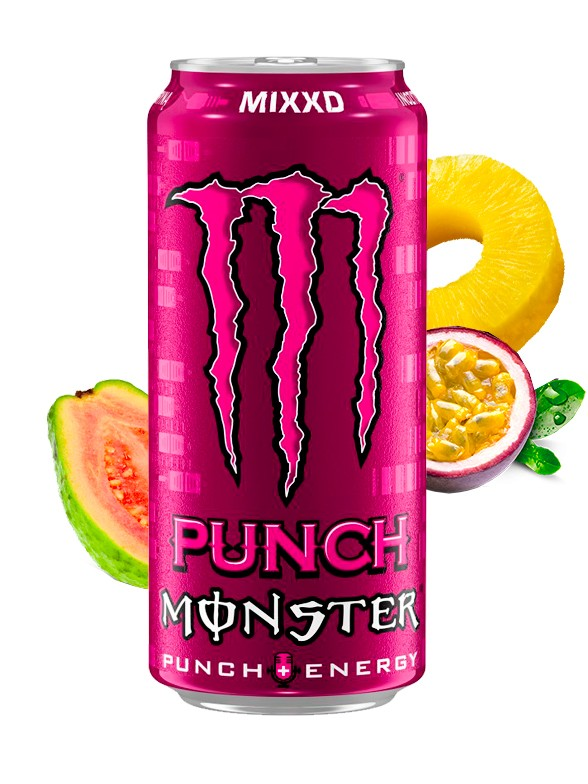 Monster MIXXD Punch | Polish Stempel 500 ml