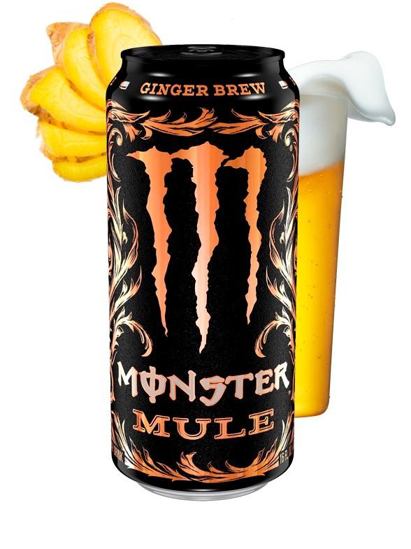 Monster Mule Ginger Brew | USA 473 ml