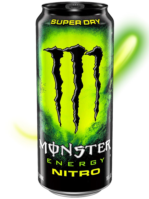 Bebida Energética Monster Nitro | 500 ml.