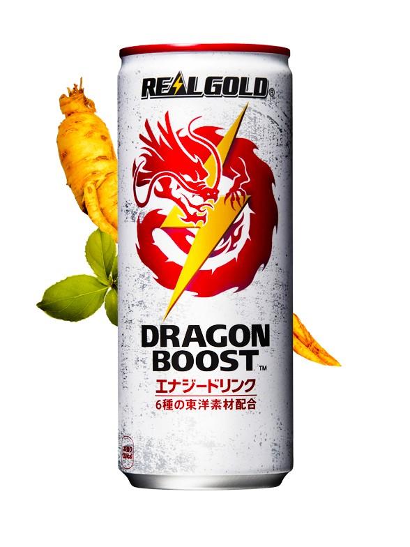 Bebida Energética Dragon Boost Triple Ginseng | Real Gold 250 ml