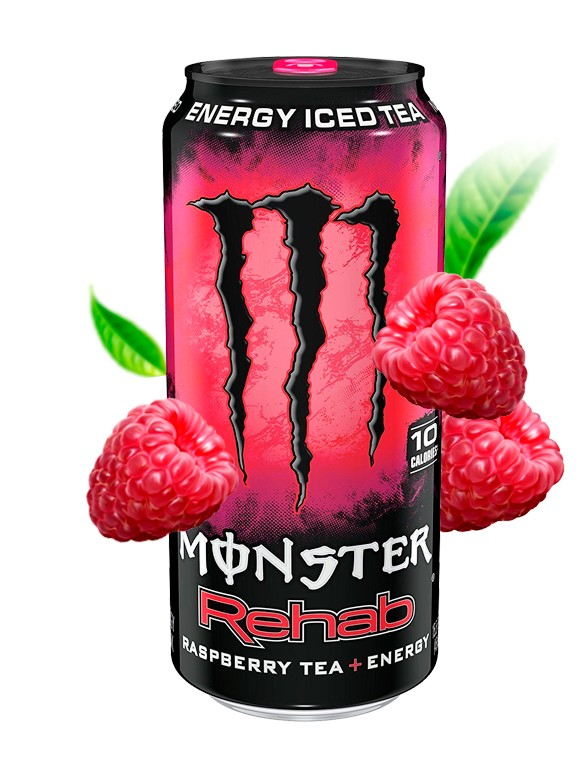 Monster Rehab Frambuesa | USA 458 ml