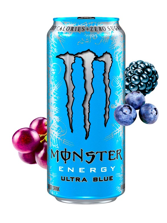 Monster ZERO Ultra Blue Ice 500 ml